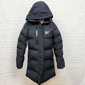 Helly Hansen Adore Puffy Parka Coat Hooded Black